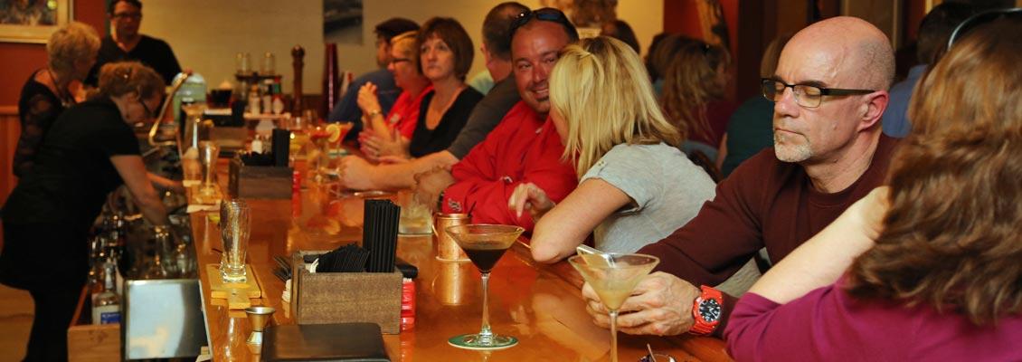 Whiskey Bar Patrons