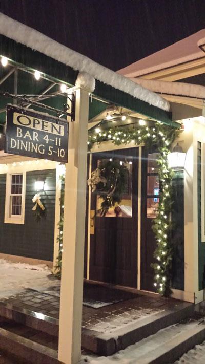Restaurant / Martini & Whiskey Bar Entrance