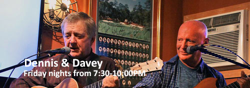 Dennis & Davey Irish Musicians